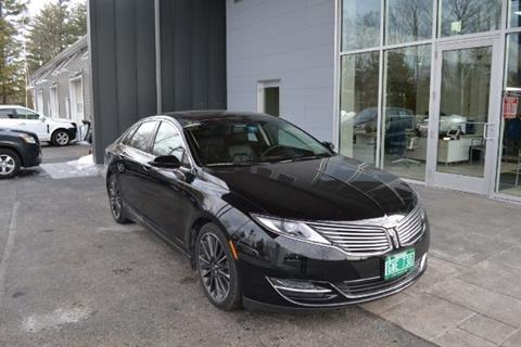 2016 lincoln mkz for sale in vermont. Black Bedroom Furniture Sets. Home Design Ideas
