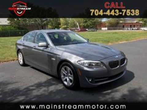 2013 BMW 5 Series for sale in Charlotte, NC