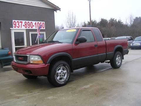 2003 GMC Sonoma for sale in Vandalia, OH