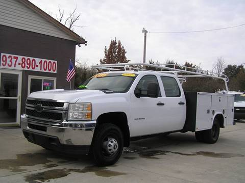 2011 Chevrolet Silverado 3500HD CC for sale in Vandalia, OH