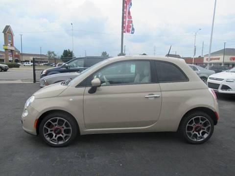 2012 FIAT 500 for sale at Bi-Rite Auto Sales in Clinton Township MI