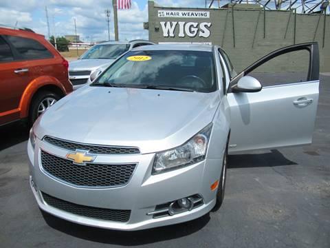 2012 Chevrolet Cruze for sale at Bi-Rite Auto Sales in Clinton Township MI