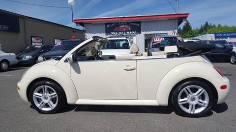 2004 Volkswagen New Beetle for sale in Hillsboro, OR