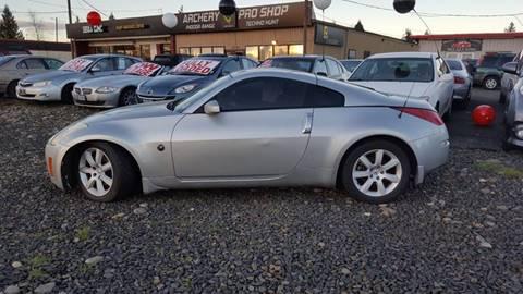 2003 Nissan 350Z for sale in Hillsboro, OR