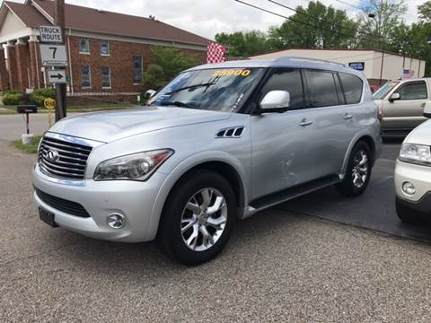 2012 Infiniti QX56 for sale in Ardmore, TN