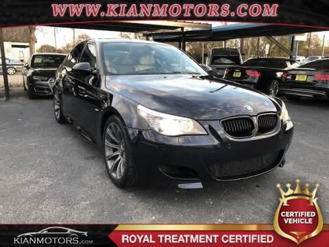 2010 BMW M5 for sale at KIAN MOTORS INC in Denton TX