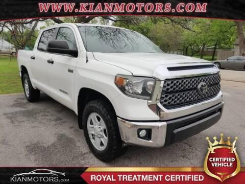 2018 Toyota Tundra SR5 for sale at KIAN MOTORS INC in Denton TX