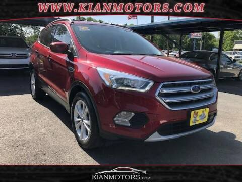 2017 Ford Escape for sale at KIAN MOTORS INC in Denton TX