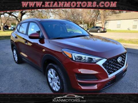 2020 Hyundai Tucson for sale at KIAN MOTORS INC in Denton TX