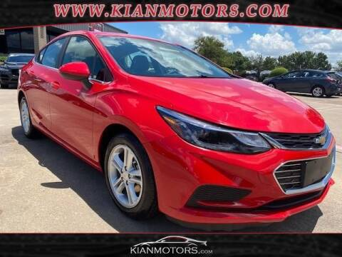 2018 Chevrolet Cruze for sale at KIAN MOTORS INC in Denton TX