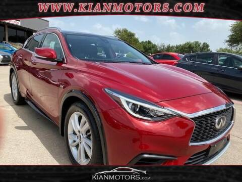 2019 Infiniti QX30 for sale at KIAN MOTORS INC in Denton TX