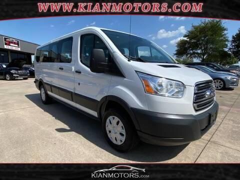 2018 Ford Transit Passenger for sale at KIAN MOTORS INC in Denton TX