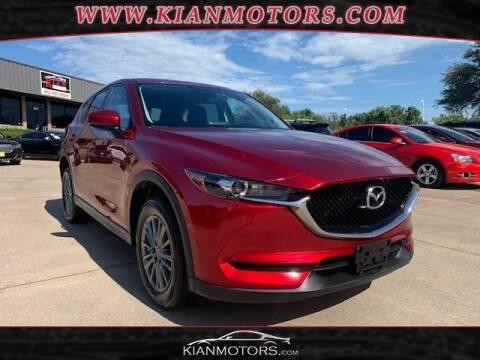 2017 Mazda CX-5 for sale at KIAN MOTORS INC in Denton TX
