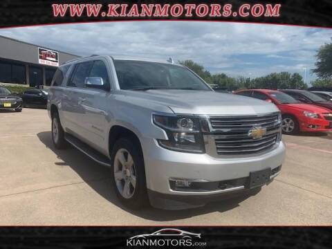 2018 Chevrolet Suburban for sale at KIAN MOTORS INC in Denton TX