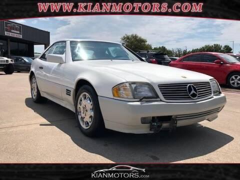 1995 Mercedes-Benz SL-Class for sale at KIAN MOTORS INC in Denton TX