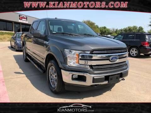 2018 Ford F-150 for sale at KIAN MOTORS INC in Denton TX