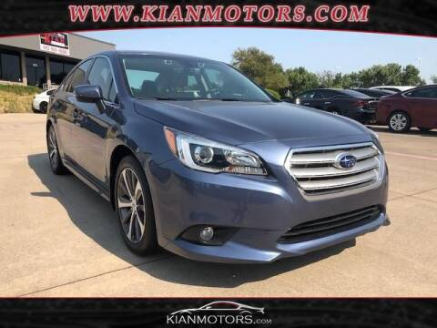 2017 Subaru Legacy for sale at KIAN MOTORS INC in Denton TX
