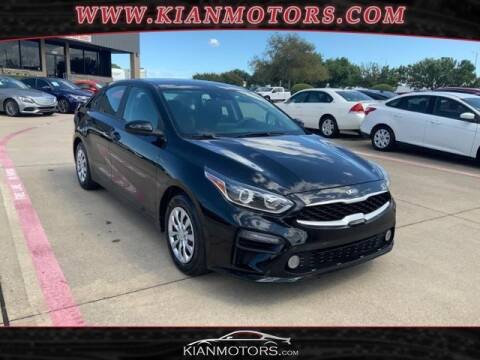 2019 Kia Forte for sale at KIAN MOTORS INC in Denton TX