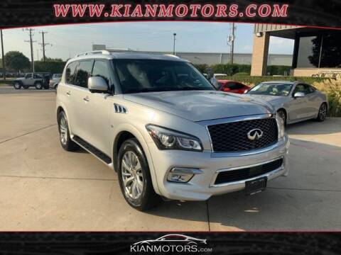2015 Infiniti QX80 for sale at KIAN MOTORS INC in Denton TX