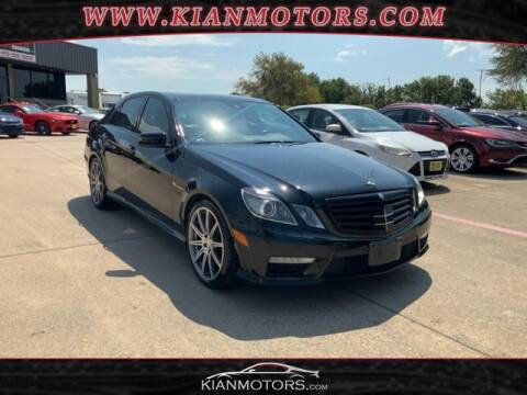 2012 Mercedes-Benz E-Class for sale at KIAN MOTORS INC in Denton TX
