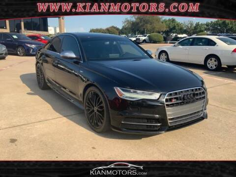 2016 Audi S6 for sale at KIAN MOTORS INC in Denton TX