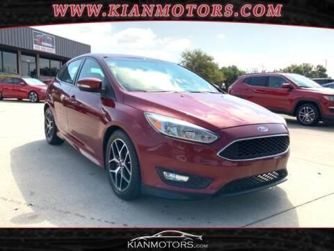 2016 Ford Focus for sale at KIAN MOTORS INC in Denton TX