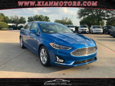 2020 Ford Fusion for sale at KIAN MOTORS INC in Denton TX