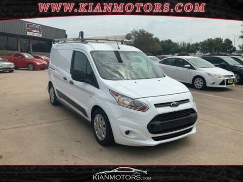 2016 Ford Transit Connect Cargo for sale at KIAN MOTORS INC in Denton TX