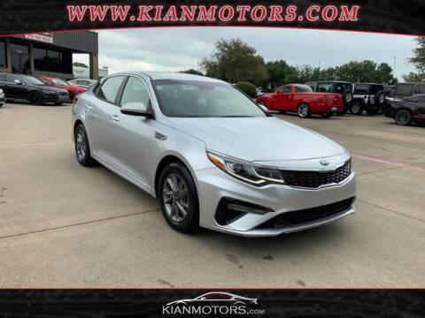 2020 Kia Optima for sale at KIAN MOTORS INC in Denton TX
