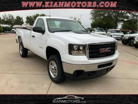 2014 GMC Sierra 2500HD for sale at KIAN MOTORS INC in Denton TX