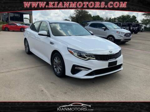 2019 Kia Optima for sale at KIAN MOTORS INC in Denton TX