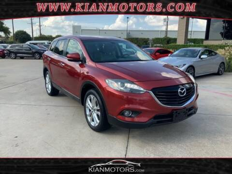 2013 Mazda CX-9 for sale at KIAN MOTORS INC in Denton TX
