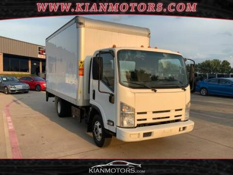 2013 Isuzu NPR DSL REG AT ECO-MAX for sale at KIAN MOTORS INC in Denton TX