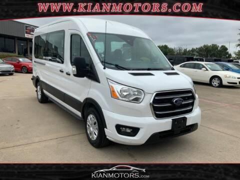 2020 Ford Transit Passenger for sale at KIAN MOTORS INC in Denton TX