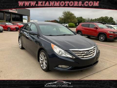 2013 Hyundai Sonata for sale at KIAN MOTORS INC in Denton TX