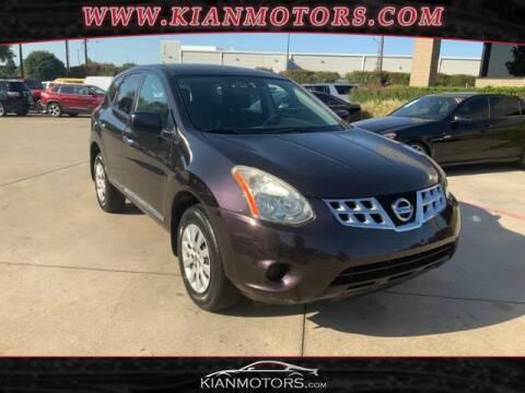 2013 Nissan Rogue for sale at KIAN MOTORS INC in Denton TX