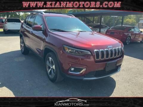 2019 Jeep Cherokee for sale at KIAN MOTORS INC in Denton TX