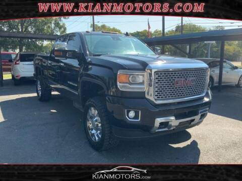2015 GMC Sierra 2500HD for sale at KIAN MOTORS INC in Denton TX