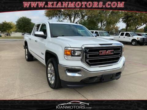2018 GMC Sierra 1500 for sale at KIAN MOTORS INC in Denton TX