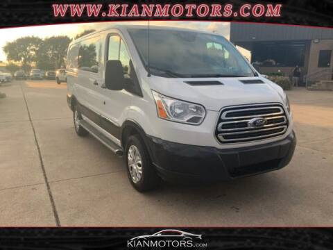 2018 Ford Transit Cargo for sale at KIAN MOTORS INC in Denton TX