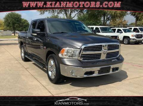 2017 RAM Ram Pickup 1500 for sale at KIAN MOTORS INC in Denton TX