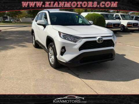 2020 Toyota RAV4 for sale at KIAN MOTORS INC in Denton TX