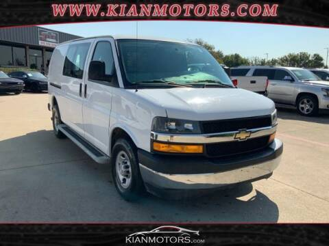 2018 Chevrolet Express Cargo for sale at KIAN MOTORS INC in Denton TX