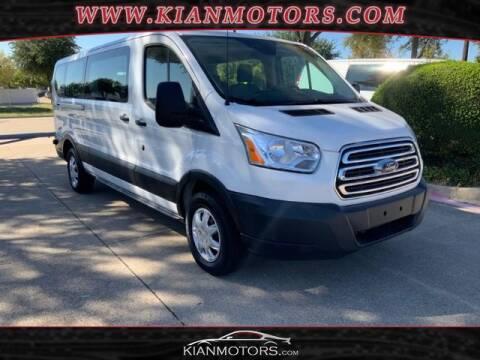 2019 Ford Transit Passenger for sale at KIAN MOTORS INC in Denton TX