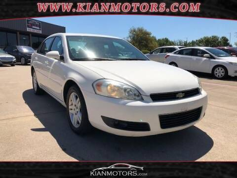 2006 Chevrolet Impala for sale at KIAN MOTORS INC in Denton TX