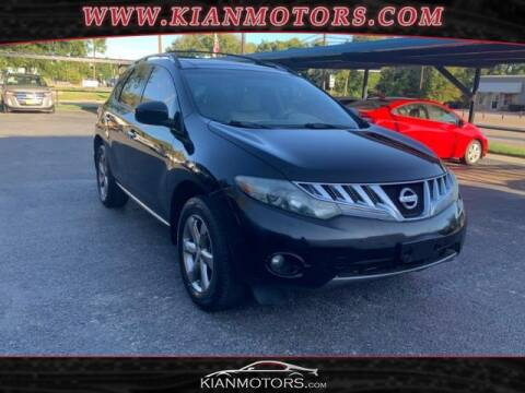 2009 Nissan Murano for sale at KIAN MOTORS INC in Denton TX