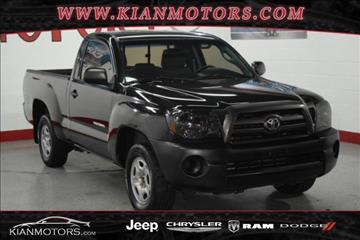 2009 Toyota Tacoma for sale at KIAN MOTORS INC in Plano TX