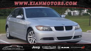2006 BMW 3 Series for sale at KIAN MOTORS INC in Plano TX