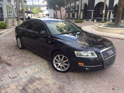 2005 Audi A6 for sale in Fort Lauderdale, FL