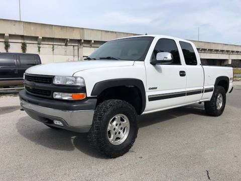 2001 Chevrolet Silverado 1500 for sale at Florida Cool Cars in Fort Lauderdale FL